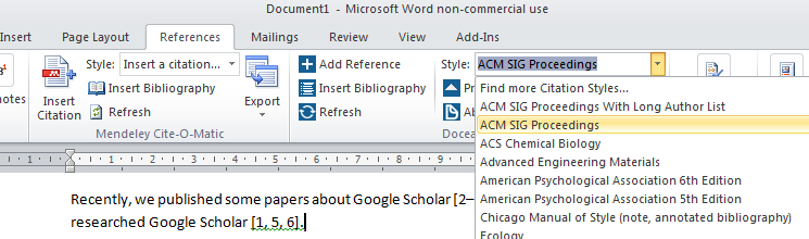 Change the citation style of the BibTeX entries
